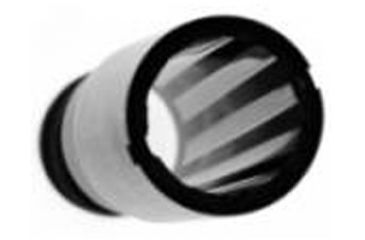 Carlson's Rifled Choke Tube, 20 ga Ber/Ben inside view 40051