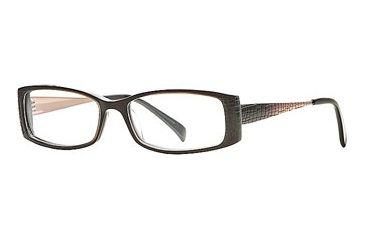 Carmen Marc Valvo CM Adriel SECM ADRI00 Bifocal Prescription Eyeglasses - Bronze SECM ADRI005235 BN