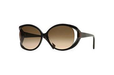 Carmen Marc Valvo CM Carmina SECM CARM06 Bifocal Prescription Eyeglasses - Black Lacquer SECM CARM066125 BK