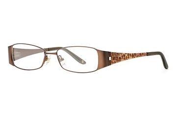 Carmen Marc Valvo CM Delilah SECM DELI00 Eyeglass Frames - Cocoa SECM DELI005030 BN