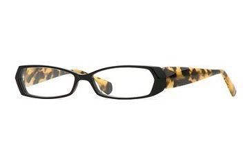 Carmen Marc Valvo CM Grable SECM GRAB00 Eyeglass Frames - Black Tortuga SECM GRAB005440 BK