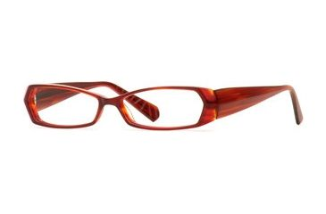 Carmen Marc Valvo CM Grable SECM GRAB00 Bifocal Prescription Eyeglasses - Pomegranate SECM GRAB005440 RD