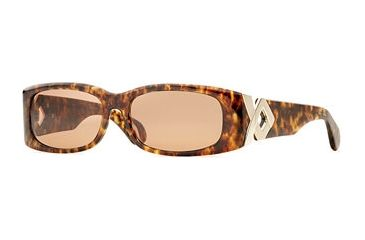 Carmen Marc Valvo CM Hepburn SECM HEPB06 Bifocal Prescription Sunglasses SECM HEPB065525 TO - Frame Color: Amber, Lens Diameter: 55 mm