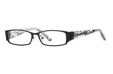 Carmen Marc Valvo CM Jayda SECM JAYD00 Single Vision Prescription Eyewear - Black SECM JAYD005030 BK