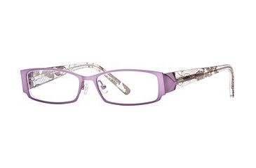 Carmen Marc Valvo CM Jayda SECM JAYD00 Single Vision Prescription Eyewear - Lilac SECM JAYD005030 PU
