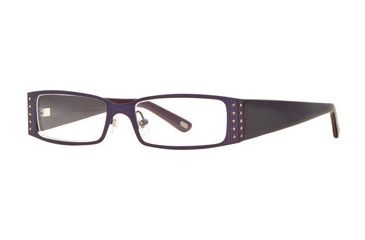 Carmen Marc Valvo CM Julissa SECM JULI00 Bifocal Prescription Eyeglasses - Midnight SECM JULI005340 BL