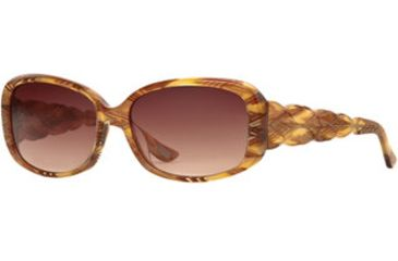 Carmen Marc Valvo CM Maria SECM MARI06 Sunglasses - Spanish Amber SECM MARI065530 BN