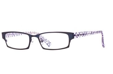 Carmen Marc Valvo CM Paulina SECM PAUN00 Eyeglass Frames - Azure SECM PAUN005135 BL