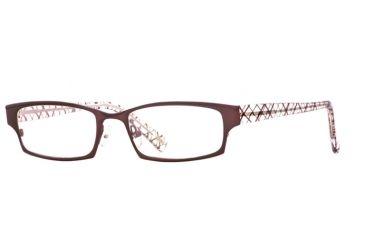 Carmen Marc Valvo CM Paulina SECM PAUN00 Eyeglass Frames - Burgundy SECM PAUN005135 BUR