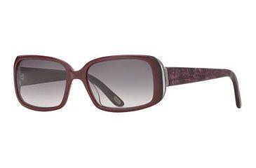 Carmen Marc Valvo CM Selena SECM SELE06 Single Vision Prescription Sunglasses SECM SELE065540 PU - Lens Diameter: 55 mm, Frame Color: Plum