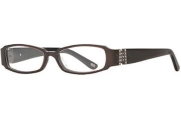 Carmen Marc Valvo CM Viviana SECM VIVI00 Single Vision Prescription Eyewear - Cafe SECM VIVI005032 BN