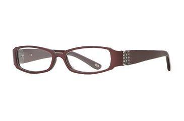 Carmen Marc Valvo CM Viviana SECM VIVI00 Progressive Prescripton Eyeglasses - Chili SECM VIVI005032 BUR