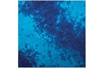 Carolina Manufacturing Bandana Tie Dye Blue W/upc/tag B22TIE-100101 UPC