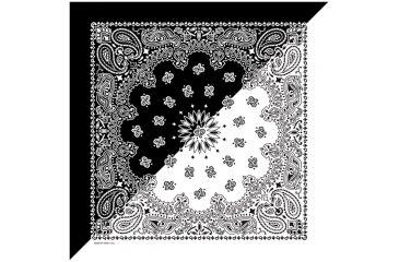 Carolina Manufacturing Split Paisley Black/white B22PA1-000200
