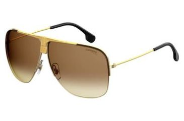 f656bfcde25d Carrera 1013/S Sunglasses CA1013S-0001-86-6409 - Yellow Gold Frame