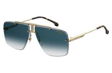 e1de29e32105 Carrera 1016/S Sunglasses CA1016S-0001-08-6411 - Yellow Gold Frame