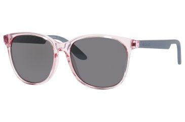 Carrera 5001/S Sunglasses CA5001S-09JB-B8-5617 - Pink Frame, Silver Mirror Lenses, Lens Diameter 56mm, Distance Between Lenses 17mm
