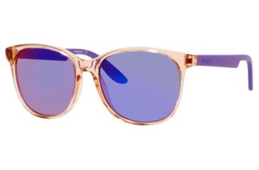 Carrera 5001/S Sunglasses CA5001S-0B7Y-TE-5617 - Orange Frame, Black Mirror Lenses, Lens Diameter 56mm, Distance Between Lenses 17mm