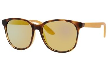 Carrera 5001/S Sunglasses CA5001S-0B89-SQ-5617 - Havana Frame, Multilayer Gold Lenses, Lens Diameter 56mm, Distance Between Lenses 17mm