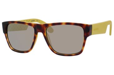 Carrera 5002/S Sunglasses CA5002S-0C24-JO-5517 - Havana Frame, Gray Bronze Mirror Lenses, Lens Diameter 55mm, Distance Between Lenses 17mm