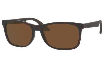 Carrera 5005/S Sunglasses CA5005S-0DDM-1L-5617 - Havana Frame, Dark Brown Flash Gold Lenses, Lens Diameter 56mm, Distance Between Lenses 17mm