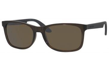 Carrera 5005/S Sunglasses CA5005S-0DEF-8G-5617 - Transparent Brown Frame, Brownsilvermirr Lenses, Lens Diameter 56mm, Distance Between Lenses 17mm