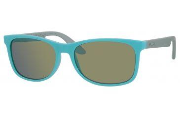 Carrera 5005/S Sunglasses CA5005S-0DEG-3U-5617 - Turquoise Frame, Khaki Mirror Blue Lenses, Lens Diameter 56mm, Distance Between Lenses 17mm