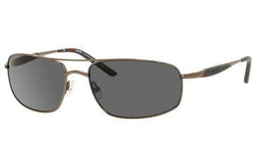 Carrera 509/S Bifocal Prescription Sunglasses CA509S-1A1P-RA-6218 - Frame Color Ruthenium, Lens Diameter 62 mm