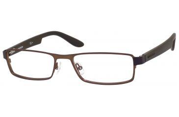 Carrera 5503 Eyeglass Frames CA5503-0BXL-5417 - Semi Matte Brown Frame, Lens Diameter 54mm, Distance Between Lenses 17mm