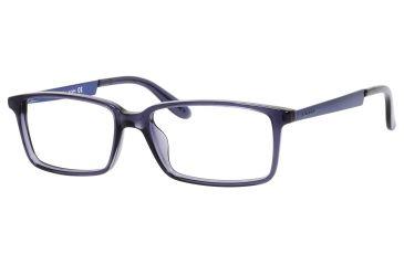Carrera 5514 Bifocal Prescription Eyeglasses CA5514-00PB-5416 - Transparent Blue Matte Blue Frame, Lens Diameter 54mm, Distance Between Lenses 16mm