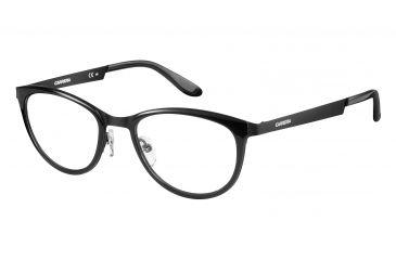 45d0b2117e65 Carrera 5528 Eyeglass Frames CA5528-0AKJ-5119 - Shiny Black Matte Frame