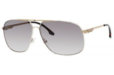 Carrera 59/S Bifocal Prescription Sunglasses CA59S-083K-IC-6211 - Frame Color Silver, Lens Diameter 62 mm