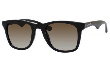 Carrera 6000/L/S Bifocal Prescription Sunglasses CA6000LS-0D28-IF-5023 - Frame Color Shiny Black, Lens Diameter 50 mm