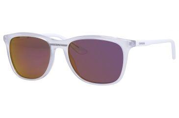 Carrera 6013/S Single Vision Prescription Sunglasses CA6013S-08KT-VQ-5418 - Lens Diameter 54 mm, Frame Color Opal White