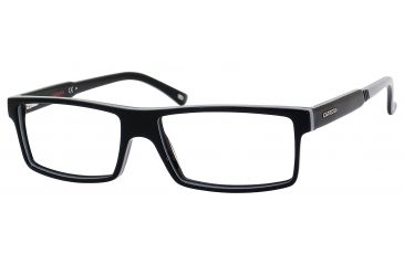 Carrera 6175 Eyeglass Frames CA6175-0D2Z-5415 - Black Gray Frame, Lens Diameter 54mm, Distance Between Lenses 15mm
