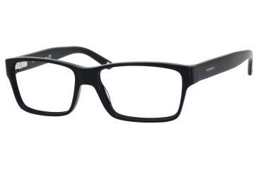Carrera 6178 Single Vision Prescription Eyeglasses CA6178-0807-5415 - Black Frame, Lens Diameter 54mm, Distance Between Lenses 15mm
