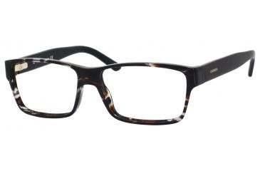 Carrera 6178 Eyeglass Frames CA6178-08Q0-5415 - Havana Gray / Black Frame, Lens Diameter 54mm, Distance Between Lenses 15mm