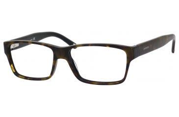 Carrera 6178 Single Vision Prescription Eyeglasses CA6178-0FQF-5615 - Havana Black Frame, Lens Diameter 56mm, Distance Between Lenses 15mm