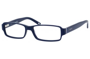 Carrera 6179 Progressive Prescription Eyeglasses CA6179-0OG0-5215 - Blue / Black White Blue Frame, Lens Diameter 52mm, Distance Between Lenses 15mm