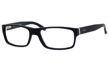 Carrera 6180 Bifocal Prescription Eyeglasses CA6180-0OFZ-5517 - Matte Black / Black White Frame, Lens Diameter 55mm, Distance Between Lenses 17mm