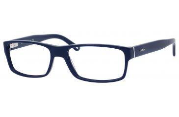 Carrera 6180 Eyeglass Frames CA6180-0OG0-5517 - Blue / Black White Blue Frame, Lens Diameter 55mm, Distance Between Lenses 17mm