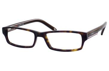 Carrera 6181 Single Vision Prescription Eyeglasses CA6181-01H9-5217 - Tortoise / Brown Frame, Lens Diameter 52mm, Distance Between Lenses 17mm
