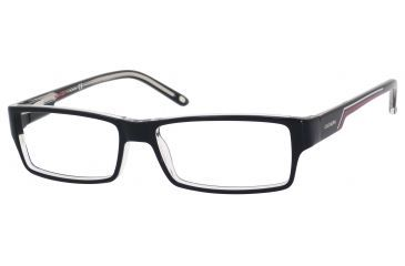 Carrera 6184 Eyeglass Frames CA6184-07C5-5215 - Black Crystal Frame, Lens Diameter 52mm, Distance Between Lenses 15mm