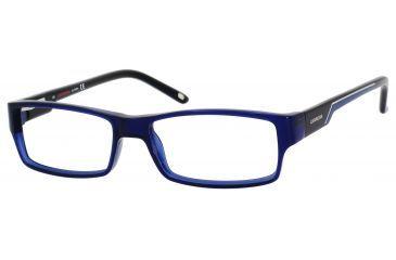 Carrera 6184 Single Vision Prescription Eyeglasses CA6184-0U6B-5215 - Blue Black Frame, Lens Diameter 52mm, Distance Between Lenses 15mm