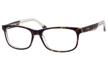 Carrera 6196 Progressive Prescription Eyeglasses CA6196-0KR9-5216 - Havana Crystal Frame, Lens Diameter 52mm, Distance Between Lenses 16mm