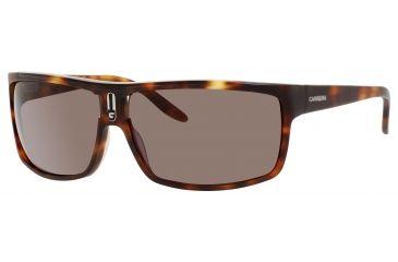 Carrera 62/S Bifocal Prescription Sunglasses CA62S-0WDR-8H-6613 - Frame Color Blonde Havana, Lens Diameter 66 mm