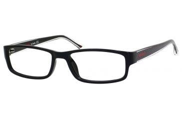 Carrera 6201 Bifocal Prescription Eyeglasses CA6201-0DB4-5216 - Black Frame, Lens Diameter 52mm, Distance Between Lenses 16mm