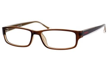 Carrera 6201 Eyeglass Frames CA6201-0DF9-5216 - Brown Frame, Lens Diameter 52mm, Distance Between Lenses 16mm