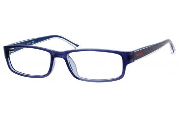 Carrera 6201 Eyeglass Frames CA6201-0DG1-5216 - Blue Frame, Lens Diameter 52mm, Distance Between Lenses 16mm