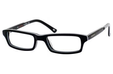 Carrera 6202 Bifocal Prescription Eyeglasses CA6202-0D2Z-4416 - Black / Gray Frame, Lens Diameter 44mm, Distance Between Lenses 16mm